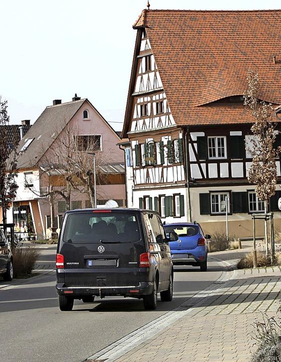 Die Hauptstraße in Grafenhausen  | Foto: Christoph Breithaupt