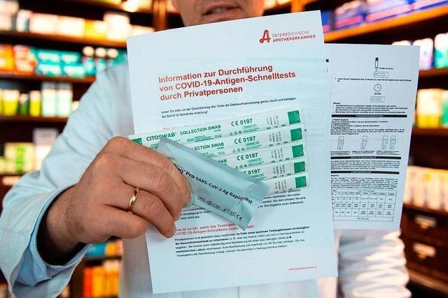 Rosenapotheke in Rheinfelden bietet Antigen-Test an