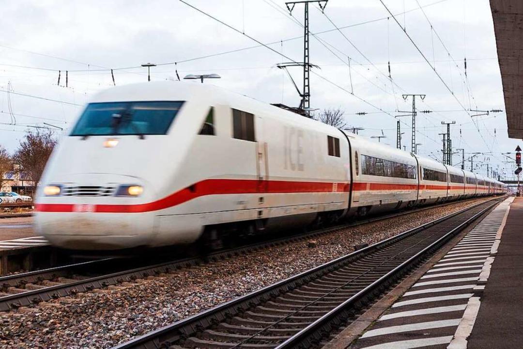 Der Müllheimer Bahnhof und sein Umfeld...he Bahn gegen Ende des Jahres starten.    Foto: Alexander Huber