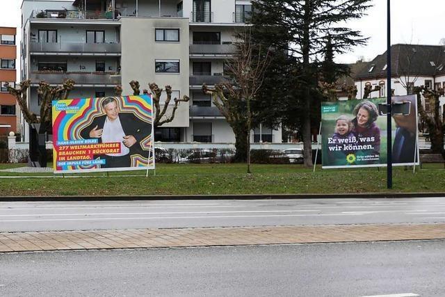 Die Lahrer Kandidaten Sittler, Kopf und Gentges erstatten Anzeigen gegen Unbekannt
