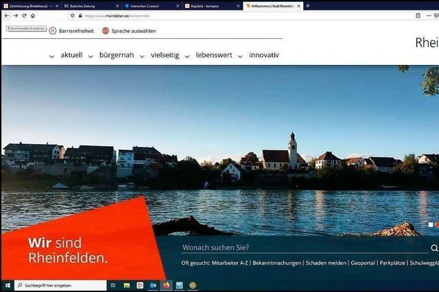 Stadt Rheinfelden informiert bald nur noch im Internet