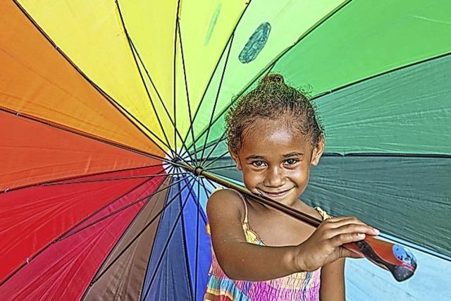 Material für zu Hause und ein Video zu Vanuatu