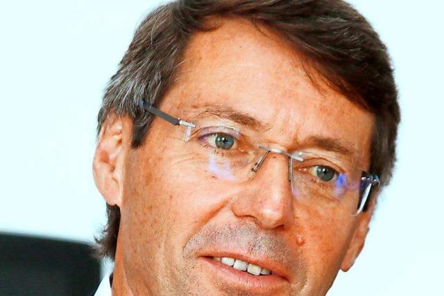 Bruno Metz, Bürgermeister von Ettenheim: