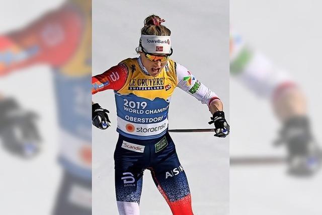 Therese Johaug dominiert über 10 Kilometer
