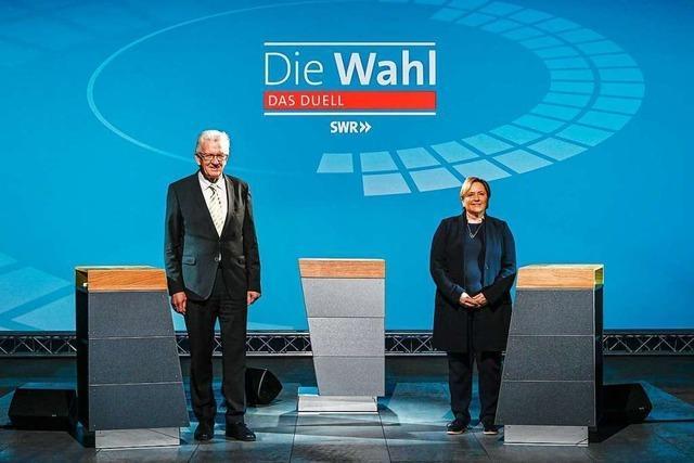 Das Fernsehduell zur Landtagswahl war ein Abbild der Krise