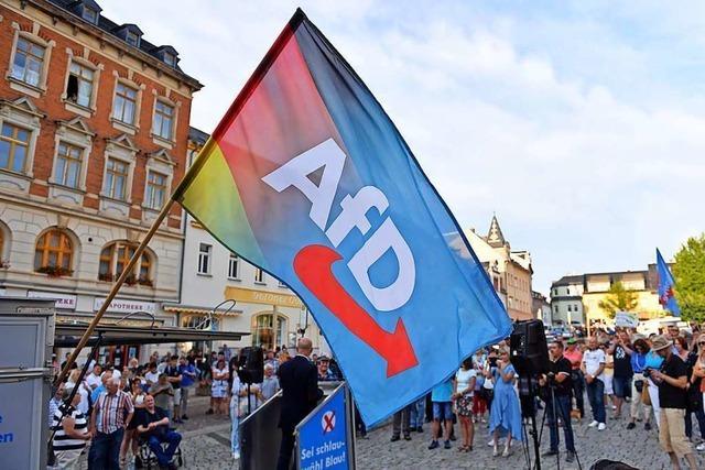 Die AfD wird nun bundesweit vom Verfassungsschutz beobachtet