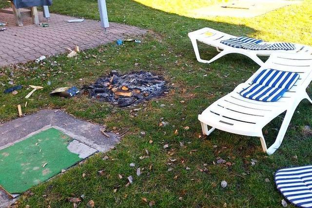 Vandalismus nach Party im Kappler Freibad