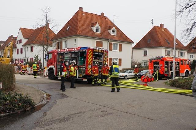 Hausbewohner nach Gasunfall in der Weiler Bannstraße evakuiert