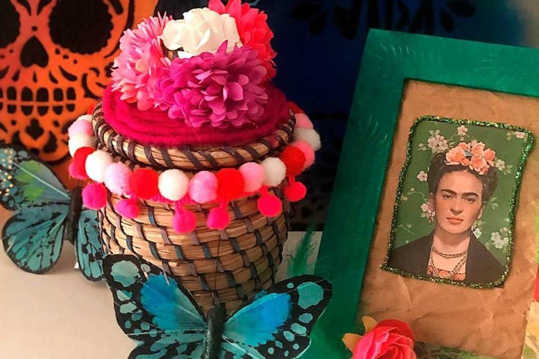 Geben Sie Vergessenem farbenfrohes Frida-Flair!  | Foto: Tina Engelhard