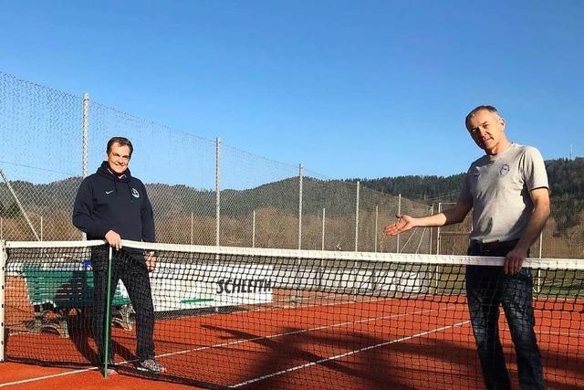 Allwetter-Tennisplatz in Buchenbach: