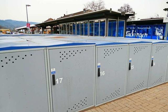 Bad Säckingen hofft für Fahrradgaragen auf Schweizer Finanzhilfe