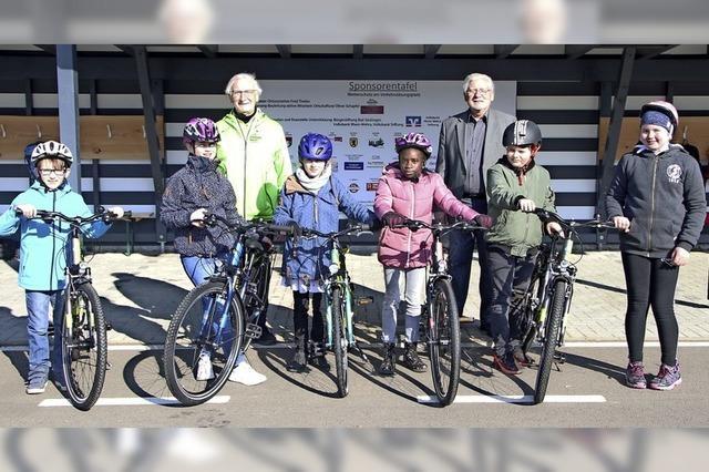 Neue Bikes für junge Fahranfänger