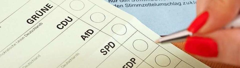 Landtagswahl 2021 im Wahlkreis Waldshut
