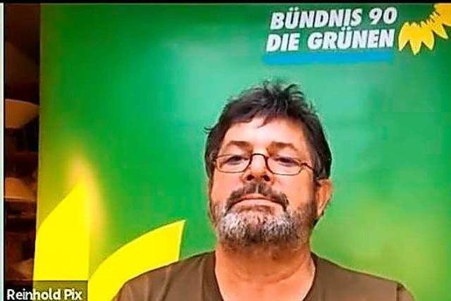 Reinhold Pix (Grüne) im BZ-Fragenwirbel: