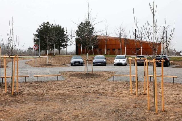 Das Haus am See in Lahr öffnet am Montag mit Abholservice – die neuen Parkplätze sind fertig