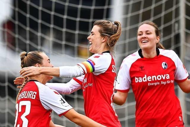 Freiburger Fußballerinnen gewinnen Südbaden-Derby gegen den SC Sand 2:1