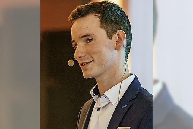 25-Jähriger will für Grüne in den Bundestag