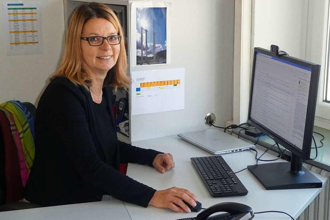 Marianne Kohls in ihrem Büro  | Foto: Peter Stellmach