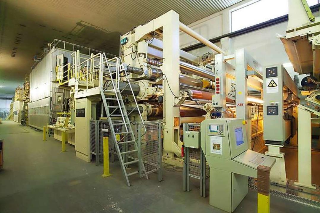 Papiermaschine 18  | Foto: Felix Schoeller Group