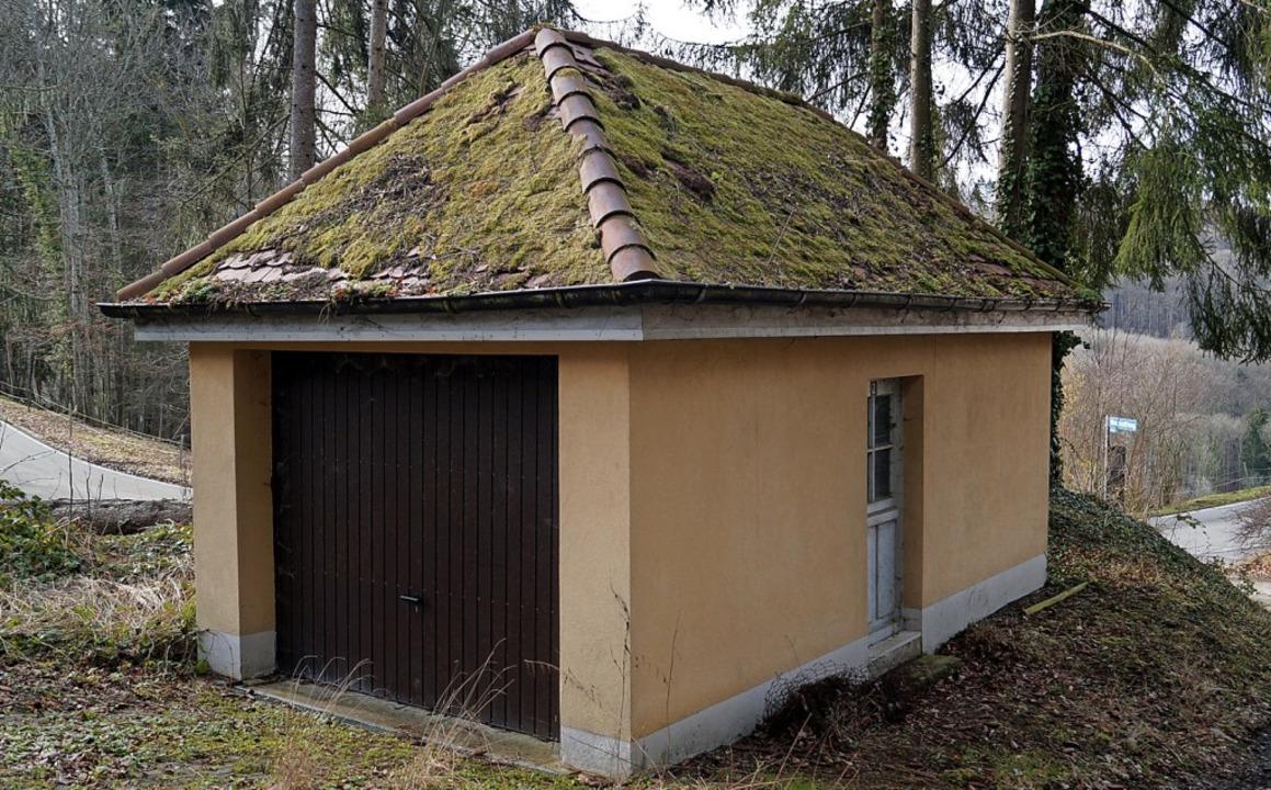 Das Milchhüsli wird erweitert, der Anbau soll aber ein Flachdach erhalten.  | Foto: Silke Hartenstein