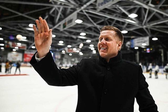 EHC-Coach Peter Russell zum Abschied: