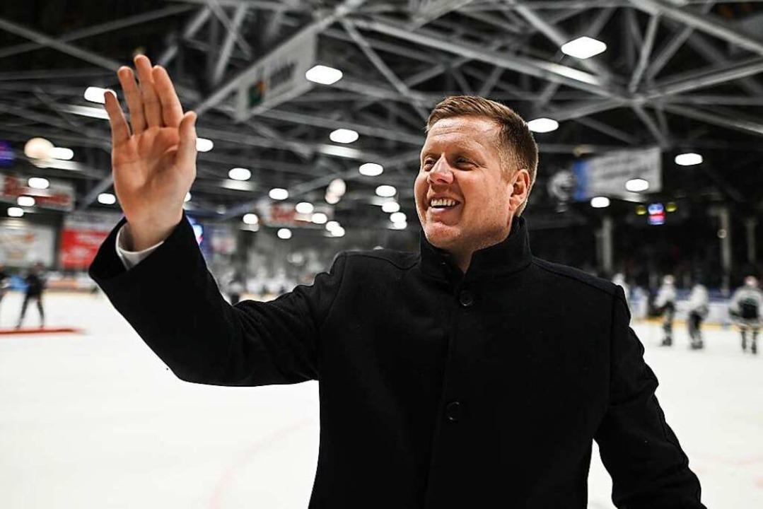 Peter Russell verlässt zum Saisonende den EHC Freiburg.    Foto: Patrick Seeger
