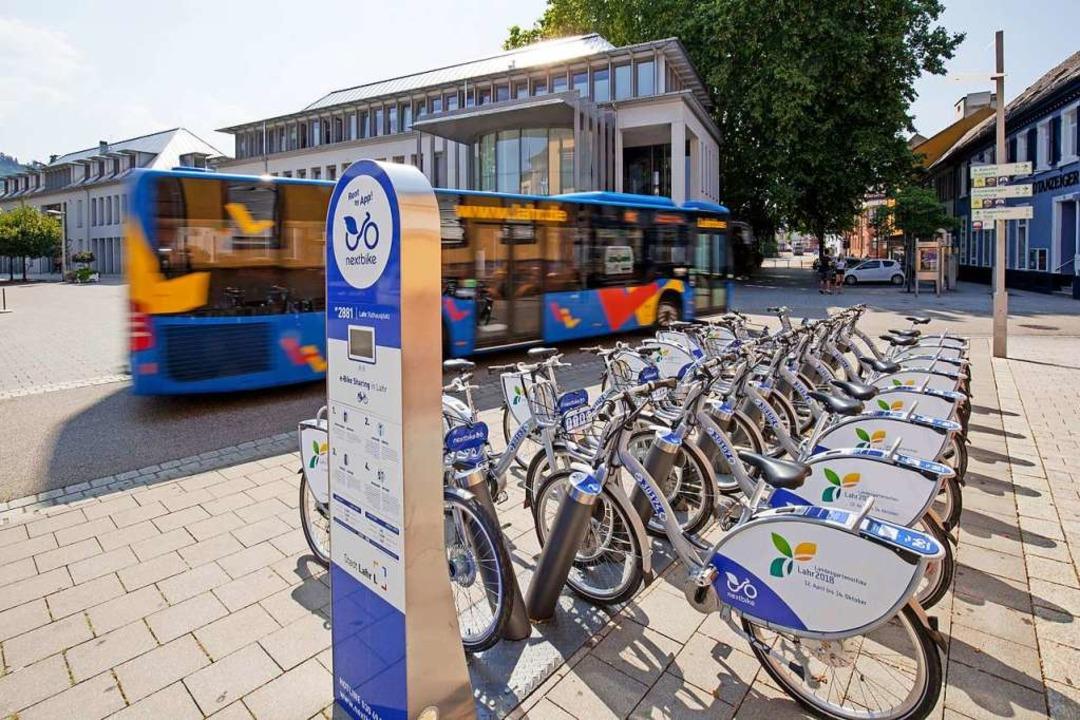 Mobilitätsstationen, an denen sich ver...anteil von Sharing-Angeboten  erhöhen.  | Foto: Andreas Weindel