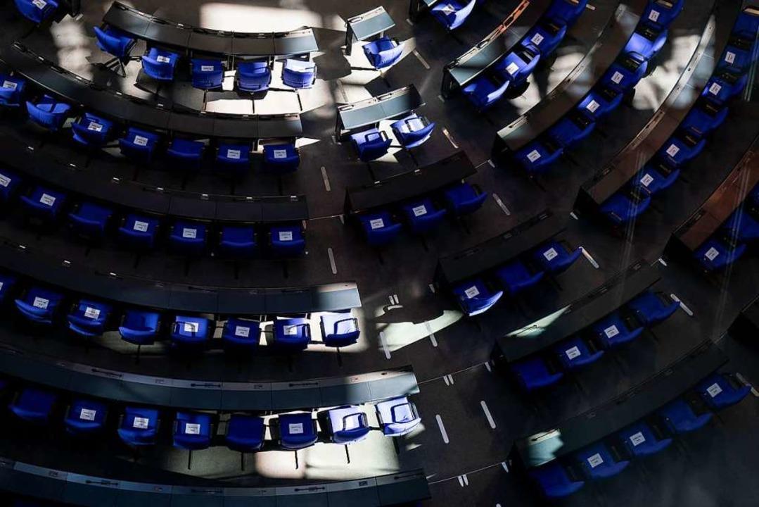 Ein Lobbyregister soll mehr Licht in d...ter außerhalb des Bundestags bringen.   | Foto: Kay Nietfeld (dpa)