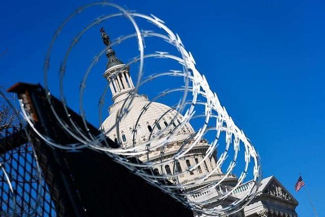 Sicherheit am Kapitol wird wegen möglichen neuen Angriff verschärft