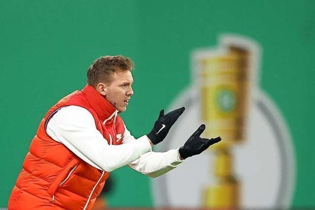 RB Leipzig schafft den Einzug ins Pokal-Halbfinale
