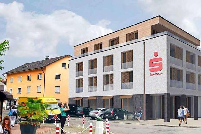 Neubaupläne der Sparkasse in Wyhlen stoßen auf Zustimmung