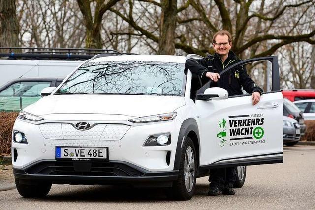 Verkehrswacht bietet kostenlose E-Auto-Probefahrten in der Region Freiburg an