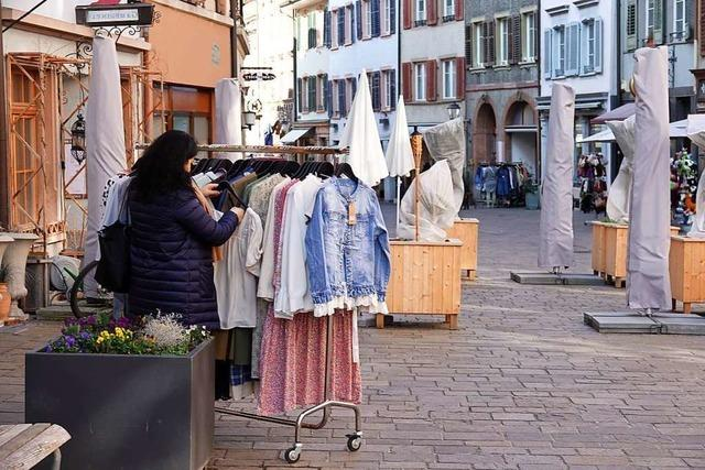 In Schweizer Rheinfelden kehrt wieder Leben ein