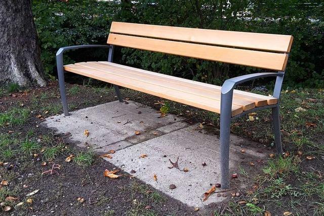 Ortschaftsrat Ebnet will möglichst viele statt teure Bänke