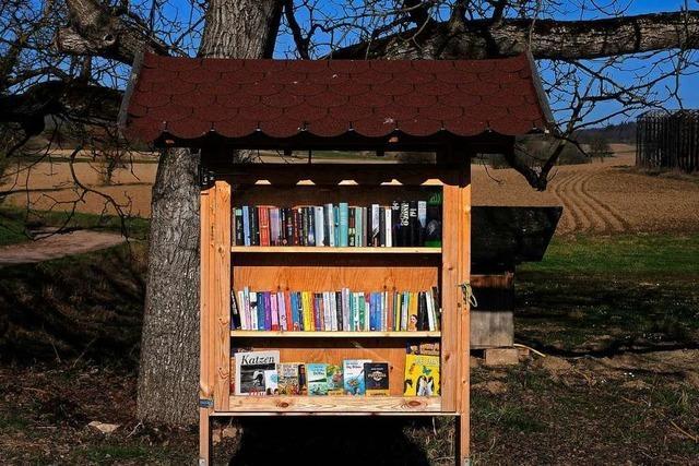 Oberschopfheim soll einen Bücherschrank bekommen