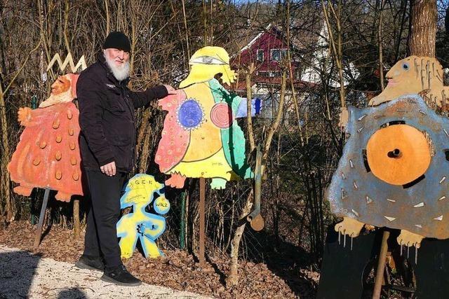 Hasel ist nicht nur das Höhlendorf, sondern auch in Kunstdorf
