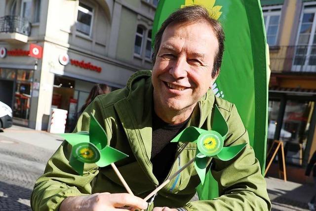 Thomas Marwein (Grüne) tritt für mehr Klimaschutz und weniger Lärm an