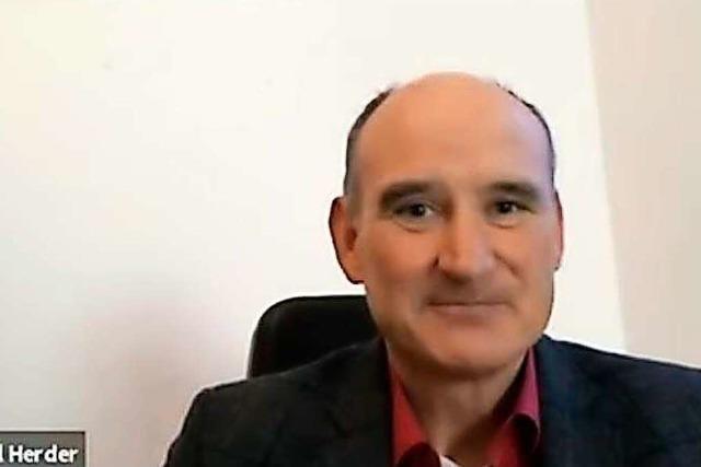 Manuel Herder (CDU) im BZ-Fragenwirbel: