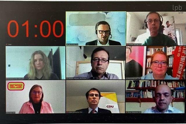 Sechs Kandidatinnen und Kandidaten aus dem Wahlkreis Offenburg werben für den richtigen Weg aus der Krise
