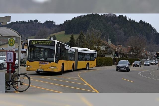 Mehr öffentlicher Busverkehr nötig
