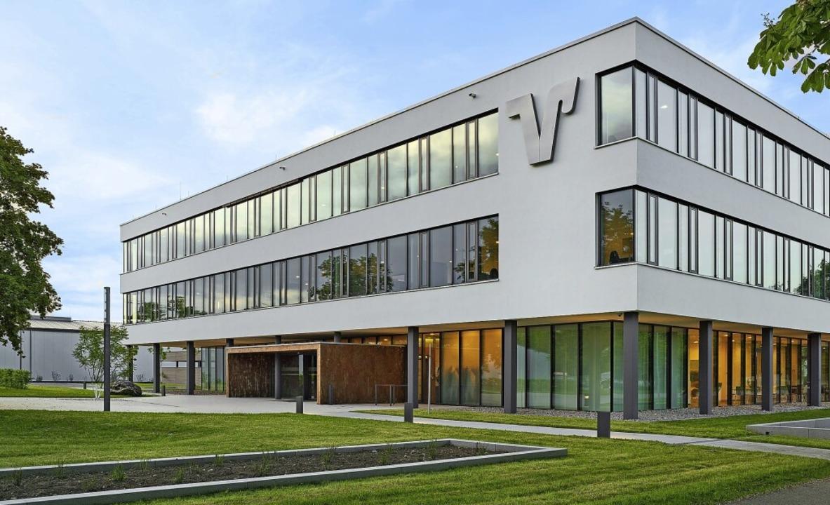 In der Volksbank-Zentrale im Gewerbepa... zufrieden mit dem Geschäftsjahr 2020.  | Foto: Volksbank Breisgau-Markgräflerland