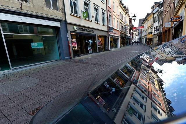 In Freiburg arbeitet man am Masterplan gegen das Ladensterben in der Innenstadt