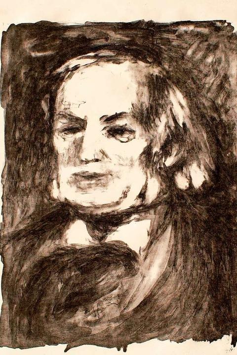 Richard Wagner, porträtiert 1882, ein ... seinem Tod, von Pierre-Auguste Renoir  | Foto:  via www.imago-images.de