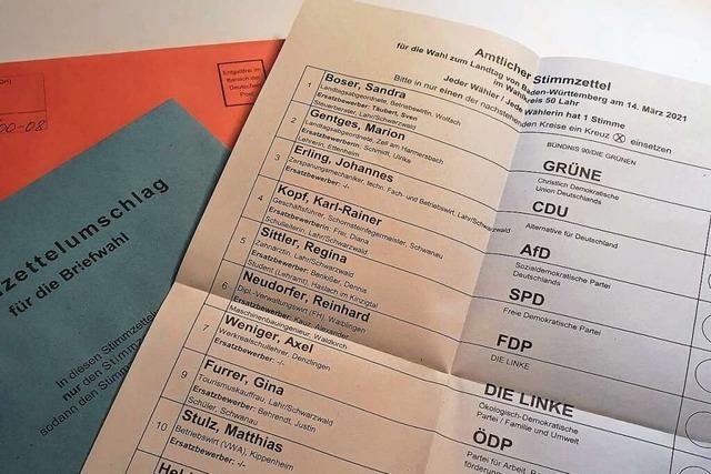 Diese sieben Kandidatinnen und Kandidaten kleinerer Parteien wollen auch in den Landtag