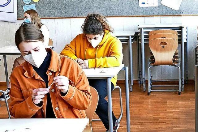 Markgräfler Gymnasium Müllheim bietet Tests für Schüler – doch die Mittel sind begrenzt