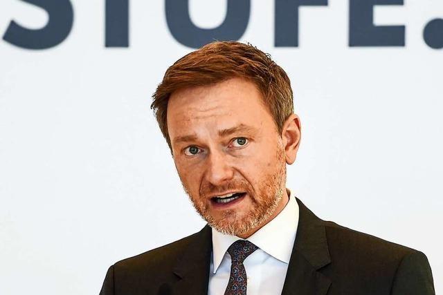 Felix Fischer im Gespräch mit dem FDP-Bundesvorsitzenden Lindner