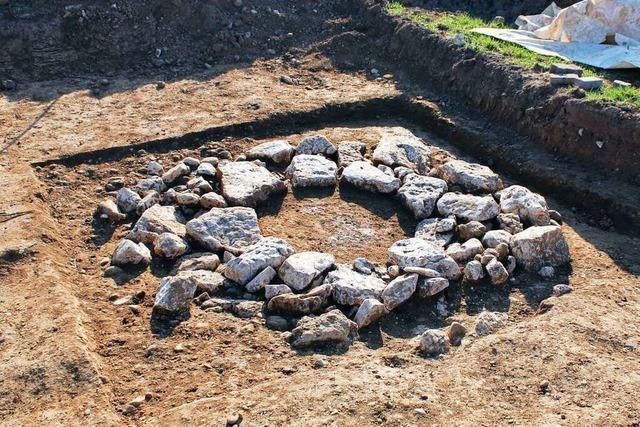 Wie in Wyhlen nach Relikten aus der Römerzeit gesucht wird