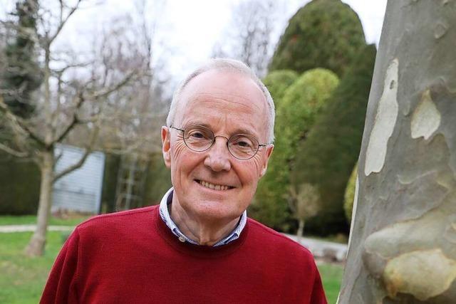 Eine Offenburger Maßeinheit: Christoph Jopen, 24 Jahre lang Bürgermeister, wird 70 Jahre alt