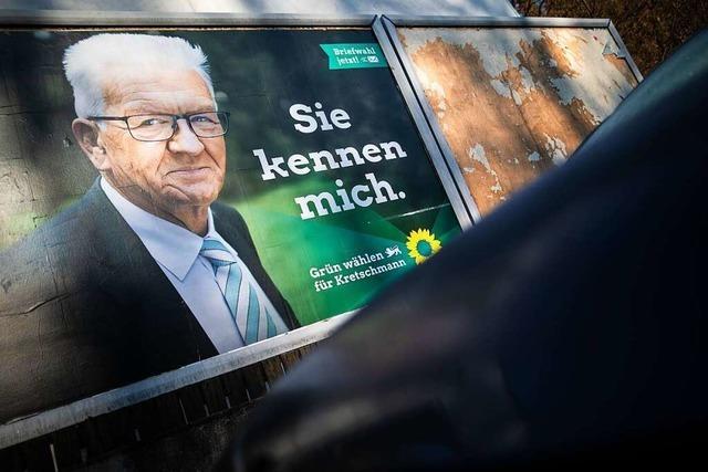 Grüne liegen in Umfragen in Baden-Württemberg klar vorn