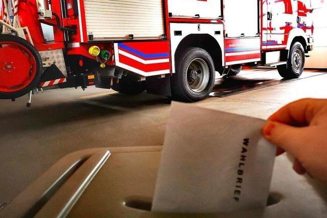Ein Wahlbrief der besonderen Art bei der Feuerwehr Murg